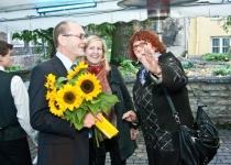 Õnnitlused Anne Ermilt (paremal) ja Marju Kaselt
