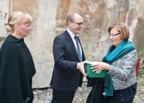Õnnesoovid Gun Oker-Blomilt, Soome Põhjamaade Instituudi direktorilt