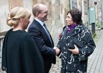 Õnnesoovid Taani Kultuuri Instituudi Eesti esinduse direktorilt Silvi Teesalult