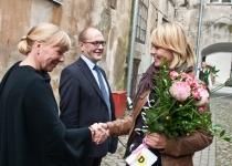 Õnnitleb Maris Takk Eesti Disainikeskusest