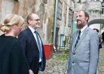 Õnnitleb Per Daniel Sävborg, Tartu Ülikooli skandinavistika osakonna professor