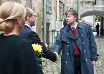 Õnnesoovid Läti suursaadikult Eestis, T. E. Karlis Eihenbaumsilt