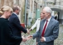 Õnnesoovid Ingemar Sundquistilt Rootsi saatkonnast Tallinnas