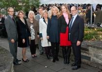 Põhjamaade Ministrite Nõukogu Eesti esinduse töötajad 2011. aasta sügisel