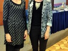 Kristiina Luht ja Lisa Green