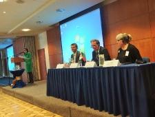 Vasakult: Reda Sirgediene, Artūras Norkevičius, Kenneth Broman ja Carita Peltonen