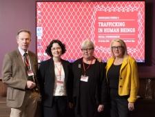 Vasakult: Jan Widberg, Lāsma Stabiņa, Carita Peltonen, Britta Thomsen