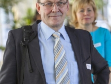 Berth Sundström ja Merle Kuusk PMNi Eesti esindusest