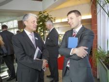 Dagfinn Høybråten, Põhjamaade Ministrite Nõukogu peasekretär ja Hanno Pevkur, EV siseminister