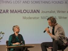 Azar Mahloujian, ajakirjanik, kirjanik ja tõlkija, Rootsi ning Mathura, kirjanik ja tõlkija