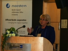 Rootsi keskkonnaminister Lena Ek