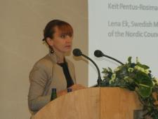 Eesti keskkonnaminister Keit Pentus-Rosimannus