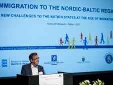 Konverentsi avasõnad ütles Põhjamaade Ministrite Nõukogu Eesti esinduse direktor Christer Haglund