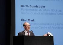 Berth Sundström, Põhjamaade Ministrite Nõukogu Eesti esinduse direktor konverentsil