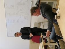 Marco Steinberg, Design Driven City ja Niels Christian Uhrenholdt, Nordic Innovation