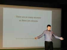 Loomeettevõtluse akadeemia 2017: seminaril rääkis digitaalse ühiskonna arendamisest Andres Kütt (Riigi Infosüsteemide Amet)