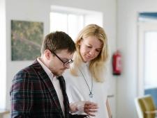 Loomeettevõtluse akadeemia 2017: seminari moderaator, ajakirjanik Jüri Muttika ja akadeemia korraldaja, PMN nõunik Grete Kodi