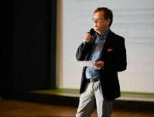 Loomeettevõtluse akadeemia 2017: seminari avasõnad ütles PMN direktor Christer Haglund