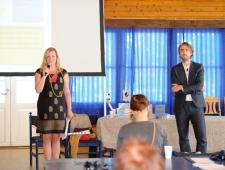 Hedvig Evert ja Ott Ojamets, Embassy of Education, suursaadikud, Eesti