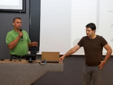 Jüri Raud (vasakul) ja Toomas Roolaid