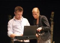 Emanuel Karlsten ja Kristel Maran (ERRi turundusjuht)