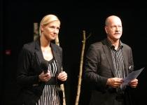 Moderaatorid Kristel Maran ja Malte Lind