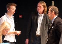 Kristel Maran, Emanuel Karlsten, Erik Kruse ja Roger Wallis