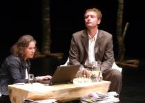 Lena Strand (Rootsi haridusraadio) ja Per Helge Soerensen (DRi avalikud suhted)