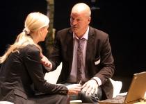 Moderaatorid Kristel Maran (ERR, turundusosakonna juht) ja Malte Lind (Rootsi Raadio, analüüsijuht)