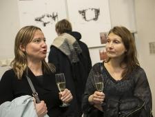 Rootsi saatkonna kultuuri- ja pressinõunik Liina Kümnik ja Taani saatkonna kultuuri- ja pressinõunik Kirke Torpan