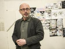 Näituse avasõnad ütles Eesti Kunstnike Liidu juht Vano Allsalu
