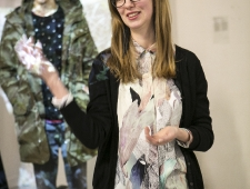 Näituse kuraatori Maija Rudovska avamiskõne
