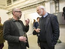 Vano Allsalu ja Norra suursaadik Dagfinn Sørli