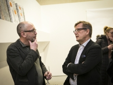 Vano Allsalu ja Christer Haglund