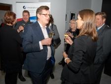 Põhjamaade Ministrite Nõukogu Eesti esinduse direktor Christer Haglund ja ETV+ peatoimetaja Darja Saar