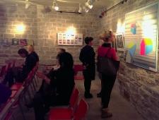 Narva infopäeval osalejad said tutvuda Visuaalkunsti näitusega