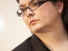 Katarina Gäddnäs. K irjanik ja Mariehamni kirjanduspäevade korraldaja
