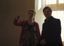 Näitlejad Haide Männamäe ja Toomas Tross