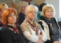 Foorumi korraldajad (vasakult): Külli Rauk Tallinna Ülikoolist ning Eha Vain ja Merle Kuusk Põhjamaade esindusest