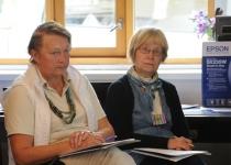 Ülle-Marike Papp (vasakul) ja Riina Kütt