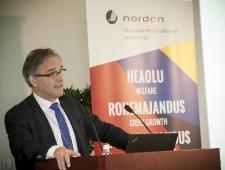 Johan Vetlesen, Norra Energeetika- ja Naftaministeeriumi peadirektori asetäitja ja Põhjamaade Ministrite Nõukogu energiakomitee liige