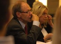 Jaakko Kalela, Soome suursaadik Eestis ja Carita Pettersson, PMNi Eesti esinduse juht