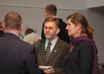 Kārlis Eihenbaums, Läti suursaadik Eestis ja Dorthe Elise Svinth, PMNi peasekretäri büroo juht