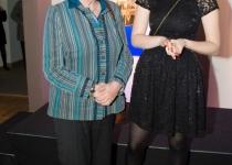 Riigikogu esimees Ene Ergma (vasakul)