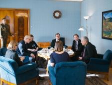Põhjamaade Ministrite Nõukogu juhtide kohtumine president Kersti Kaljulaidiga