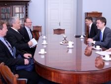 Põhjamaade Ministrite Nõukogu peasekretäri ja EV peaministri kohtumine