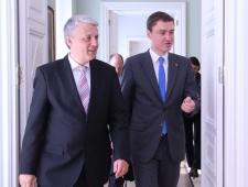 Põhjamaade Ministrite Nõukogu peasekretäri ja EV peaministri kohtumine Tallinnas, 24.04.2014