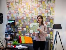 """Meg Nömgårdi koolitus """"Kuidas jutustada lugusid, mis toetavad sinu brändi"""""""