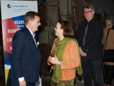 Kirsti Narinen, Soome suursaadik Eestis ja Raul Mälk, EV Välisministeerium