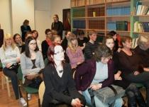 Islandi saagade tõlkeraamatu esitlus